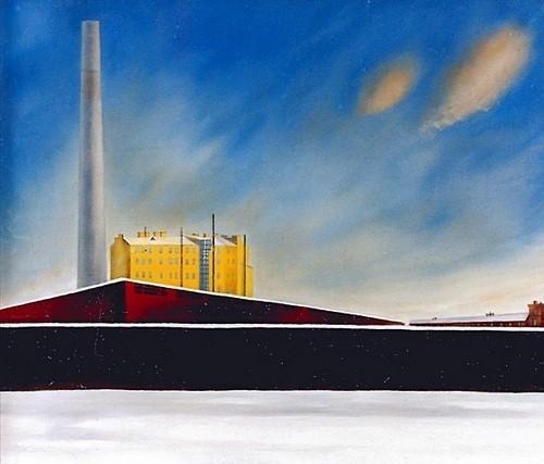 Зимний день 1992 г. 65х85 холст, масло Цена: 35750