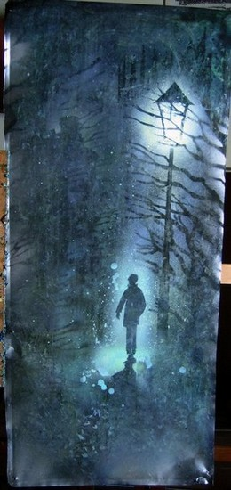 из серии «Второе дыхание» 2010 г. масло, эмаль, металл