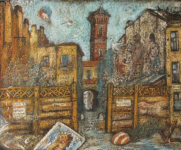 Мечты об Италии 2009 г. 50х60 картон, пастель Цена: 16000