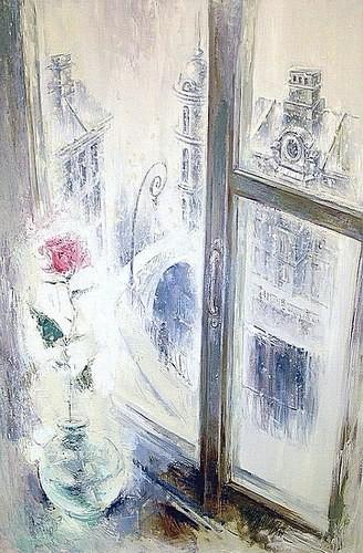 Снег за окном (совместно с Дмитрием Егоровским) 2004 г. 140*100 холст, масло Цена: 110000