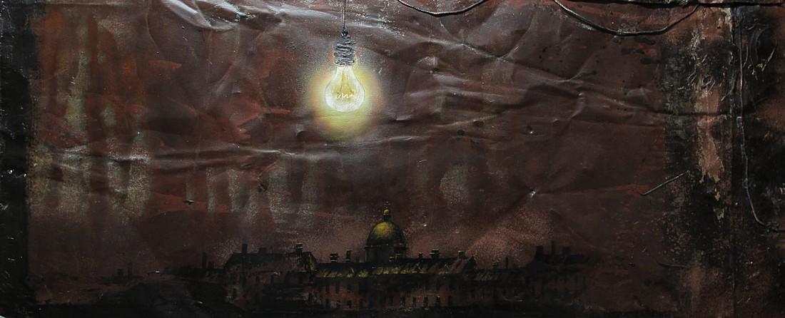 Петербургская ночь 2016 г. кровельное железо