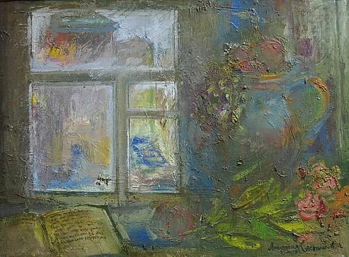 Свет из окна 2005 г. 50х70 холст, масло Цена: 36300