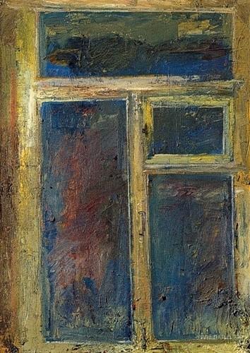 Окно живописное 1999 г. 100х80 холст, масло Цена: 55000