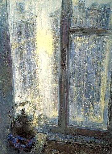 Петербургское утро (совместно с Дмитрием Егоровским) 2002 г. 140х100 холст, масло Цена: 110000