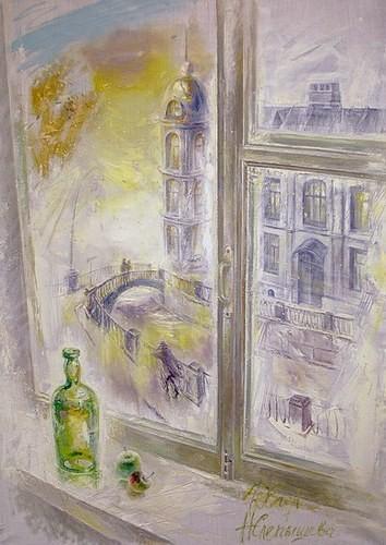Осенний свет (совместно с Настей Слепышевой) 2004 г. 140x100 холст, масло Цена: 110000