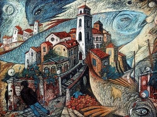 2 апреля в арт-галерее «Нанаколемаоле» пройдет открытие выставки картин «Сказы Старого Города» художника Яна Антонышева.